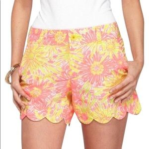 •Lilly Pulitzer• Butter Cup Glow Shorts
